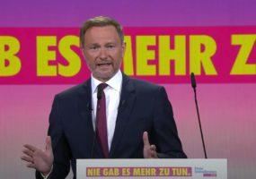 Christian Lindner Bundesparteitag 2021